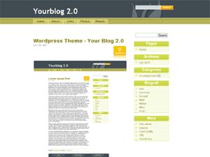 MyBlogsTheme free wordpress theme