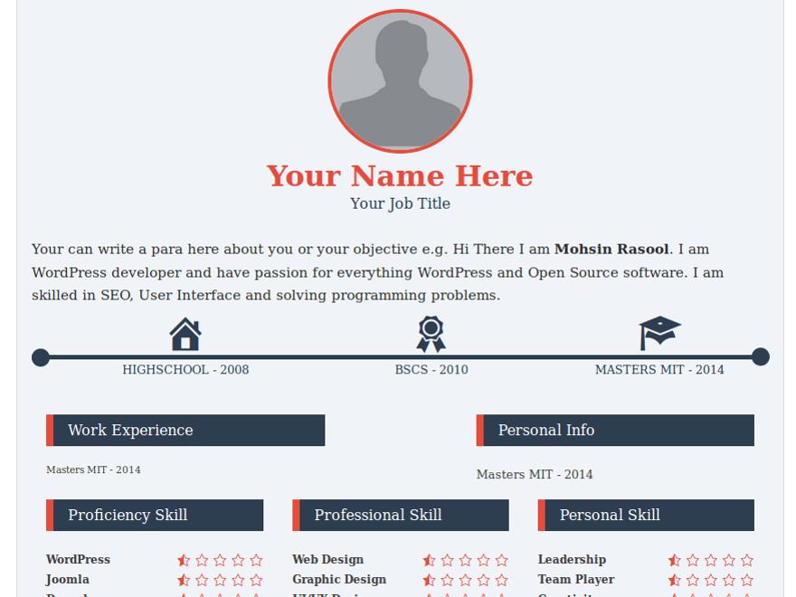 MyResume  My Resume