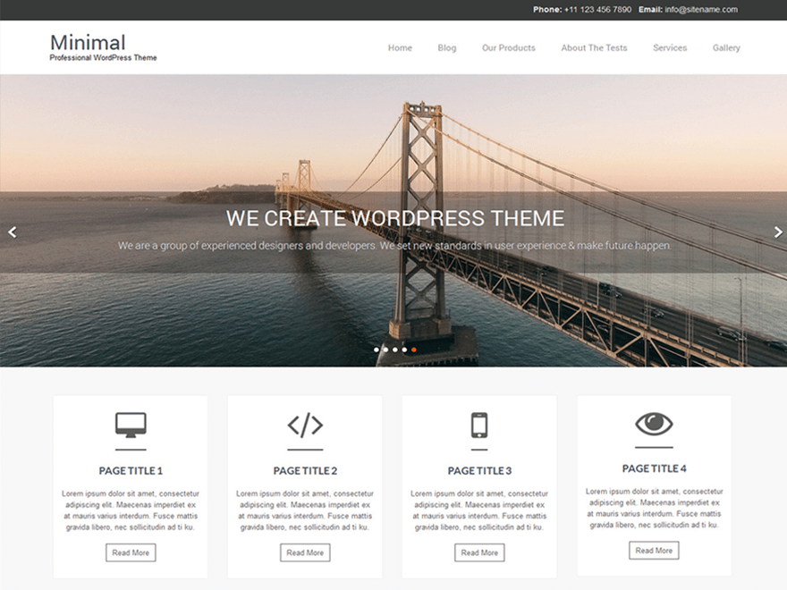 Naturo Lite free wordpress theme