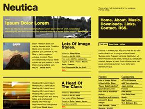 Neutica wordpress theme