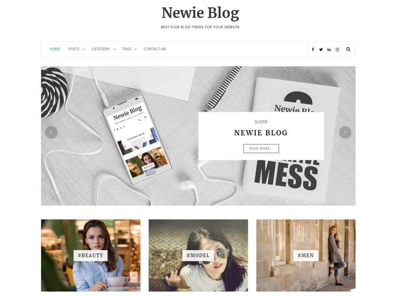 Newie — Free WordPress Themes
