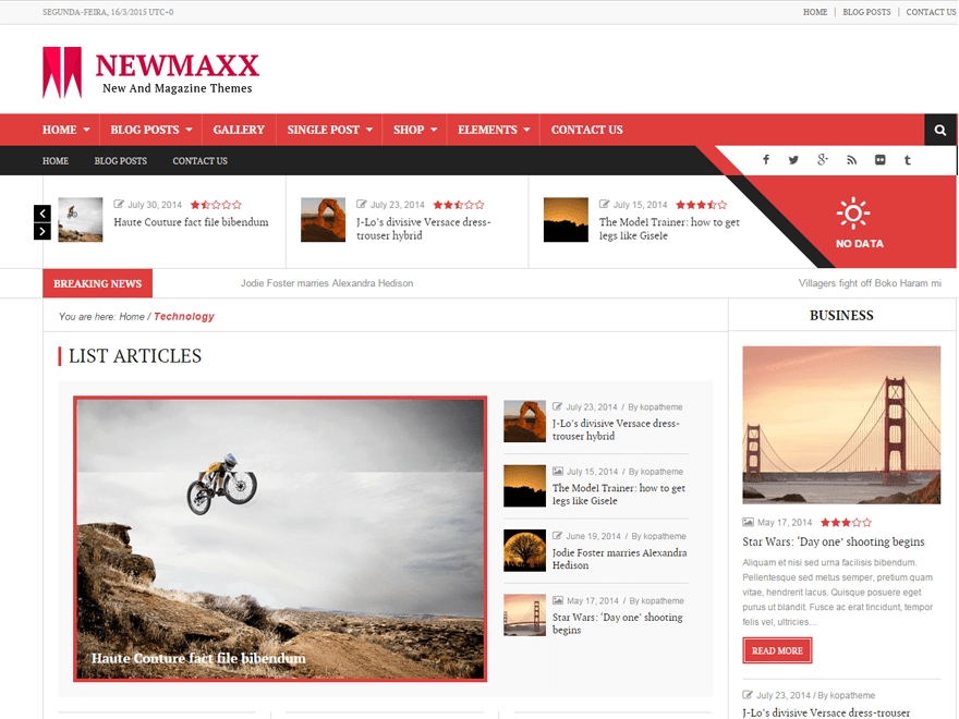 news — Free WordPress Themes