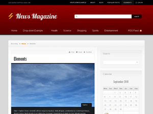 News free wordpress theme