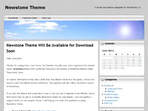 NewStone free wordpress theme