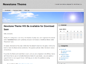 NewStone wordpress theme