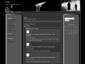 Noir free wordpress theme