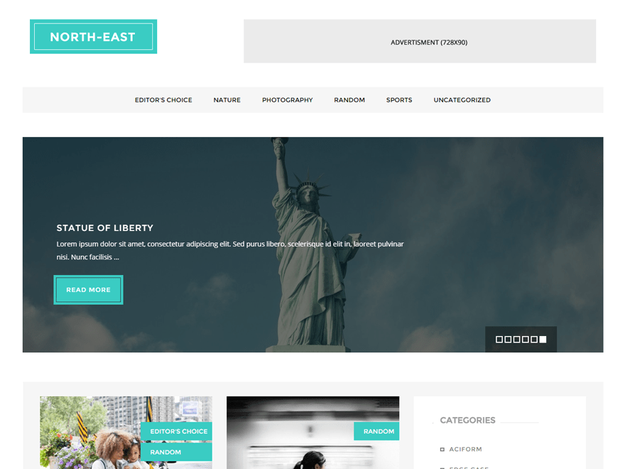 North East WordPress Theme