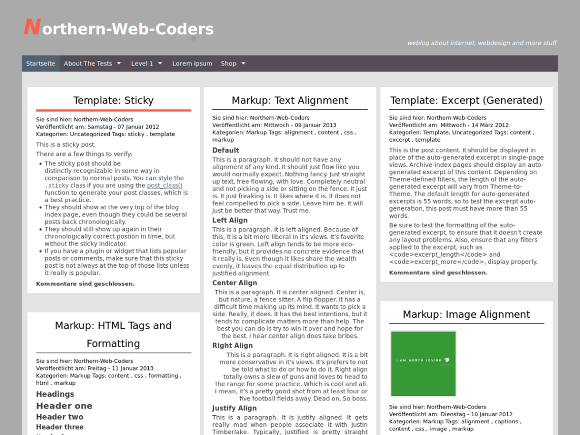 Northern-Web-Coders — Free WordPress Themes