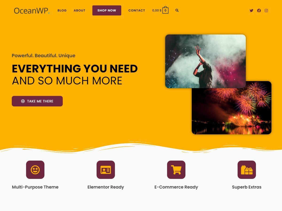 OceanWP - Best AdSense Optimized WordPress Themes