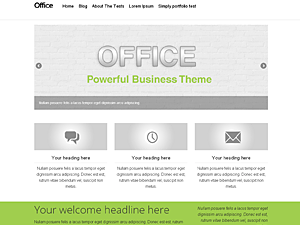 office free wordpress theme