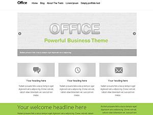 office wordpress theme