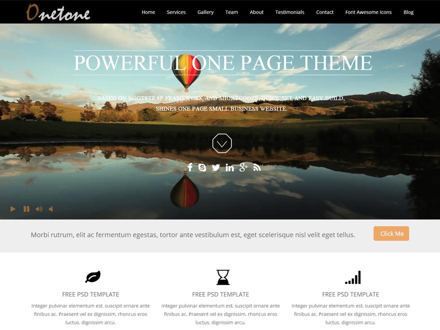 ONETONE Business, Portfolio, Biographie, Blog