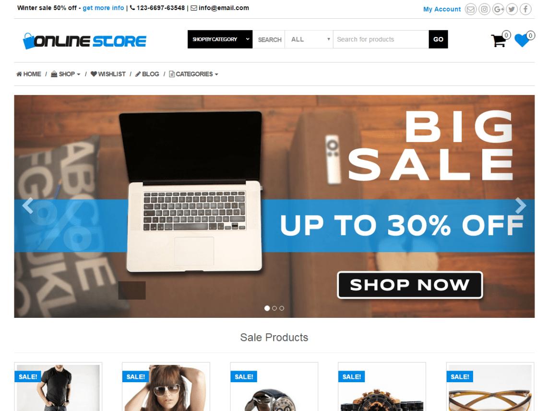 Online Store Wordpress