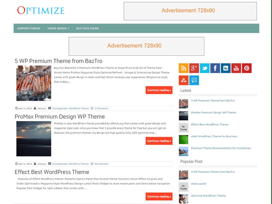 Optimize | WordPress.org