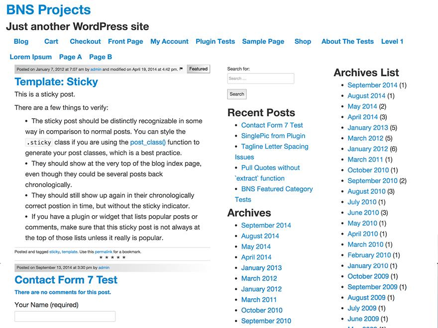 Opus Primus free wordpress theme