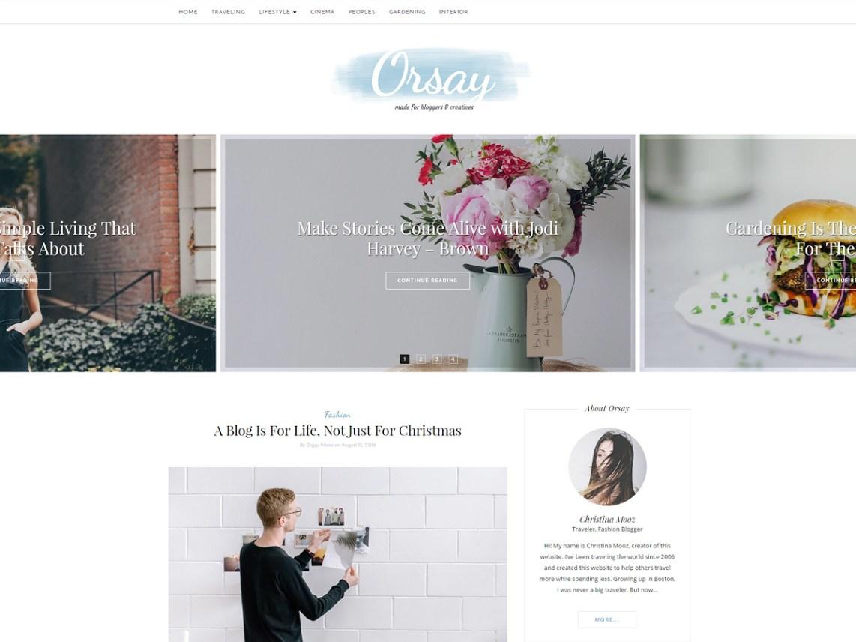 Orsay Wordpress