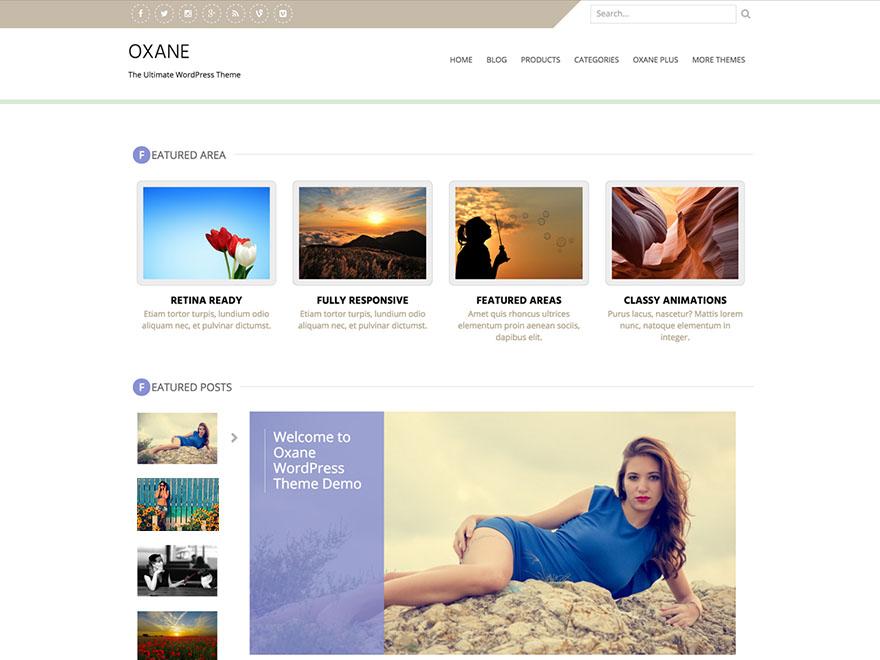 Oxane | WordPress.org