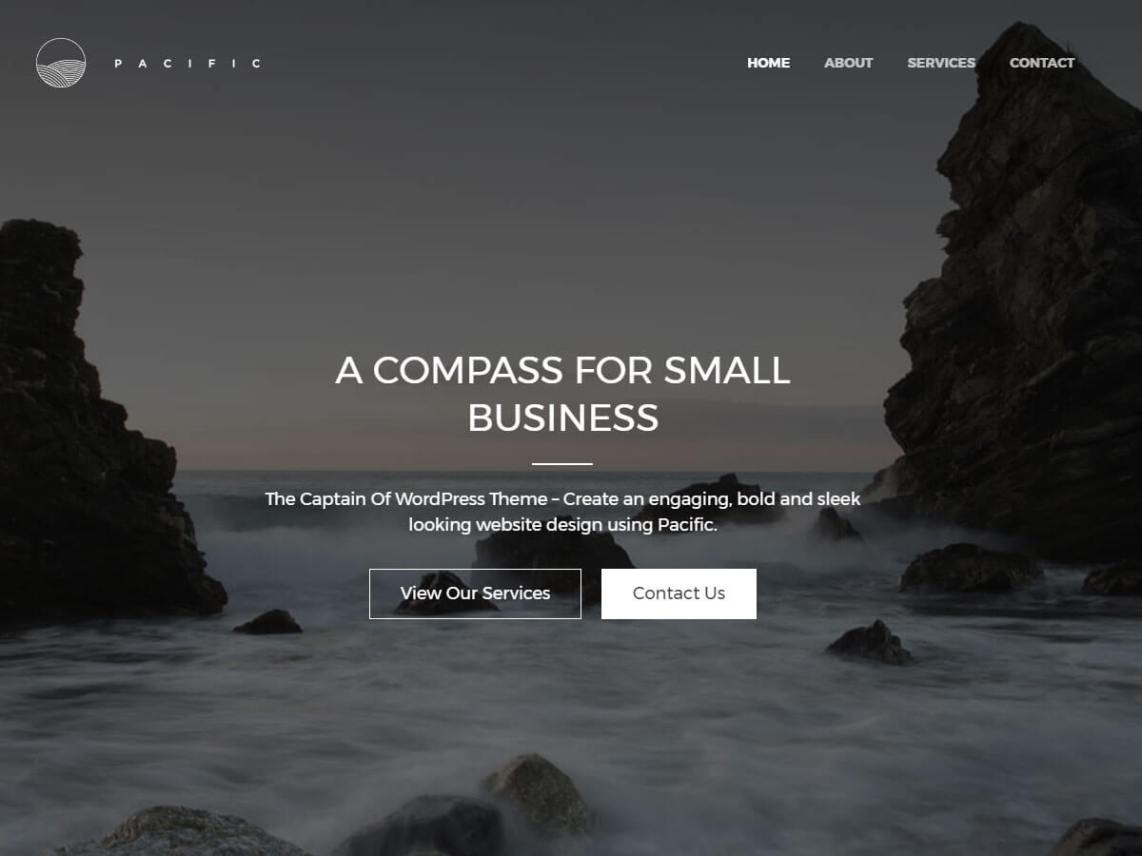 Pacific WordPress theme by elevate360