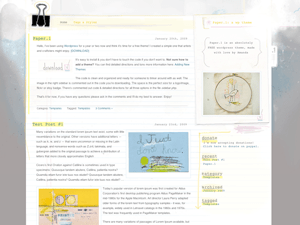 Paper free wordpress theme