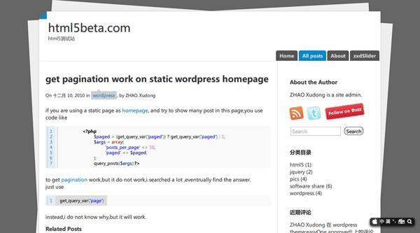 Paper3 free wordpress theme