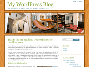 Parquetry wordpress theme
