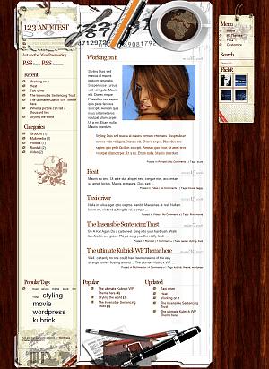 password free wordpress theme