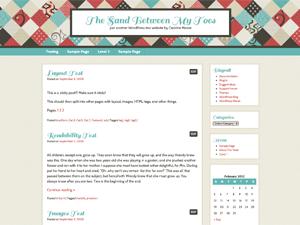 Patchwork free wordpress theme