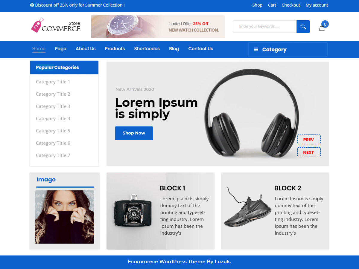 Perfect Ecommerce Store