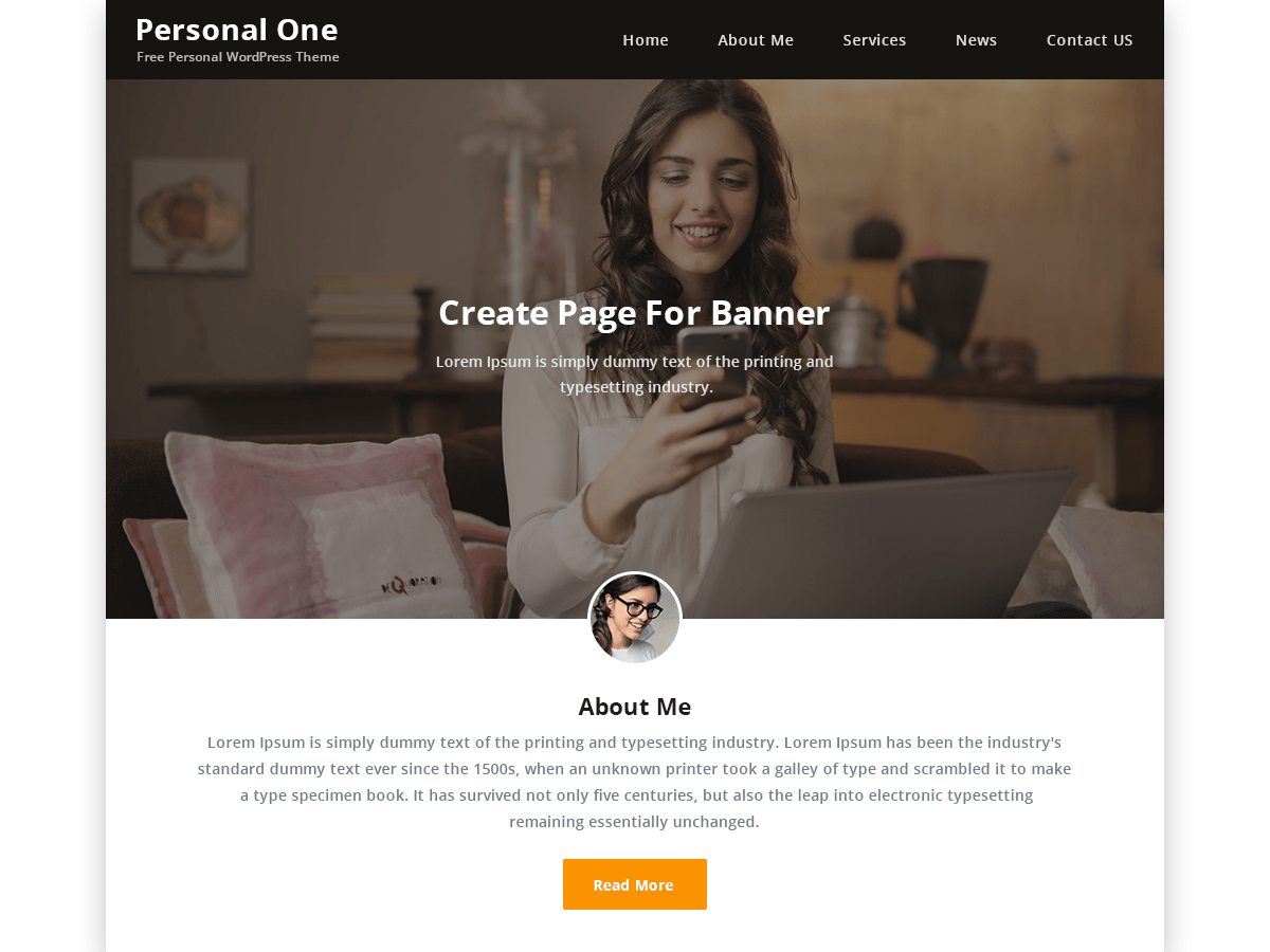 free wordpress themes for personal website