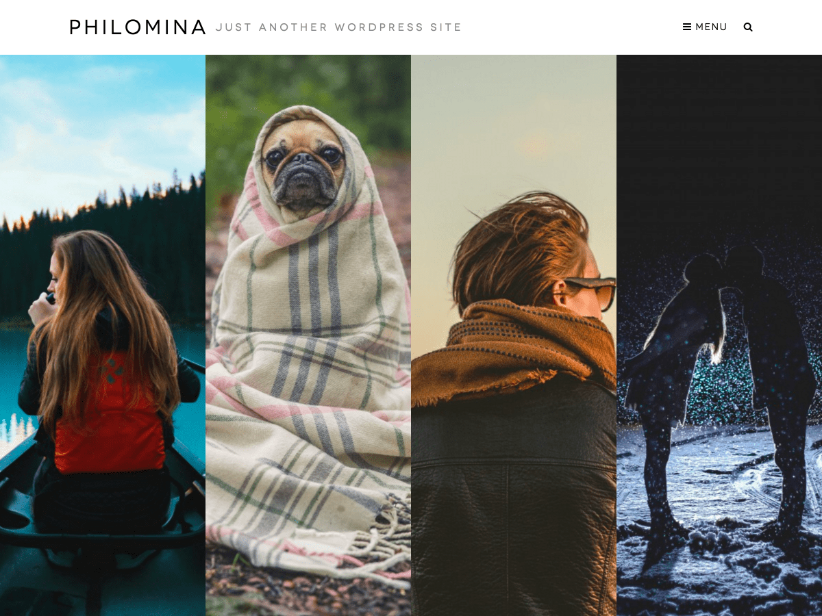 Philomina free wordpress theme