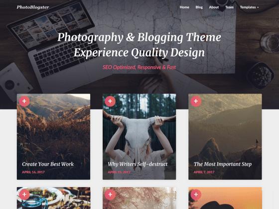 PhotoBlogster | WordPress.org