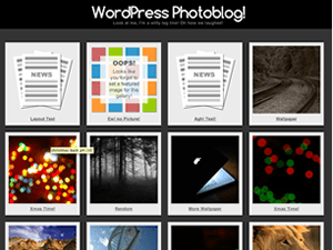 Photographic free wordpress theme