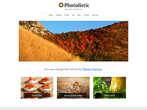 Photolistic wordpress theme