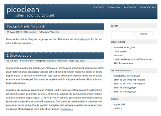 picoclean free wordpress theme