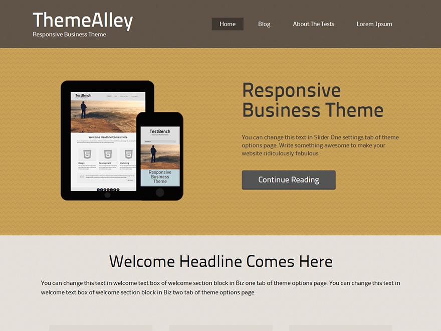 Planc theme wordpress gratuit