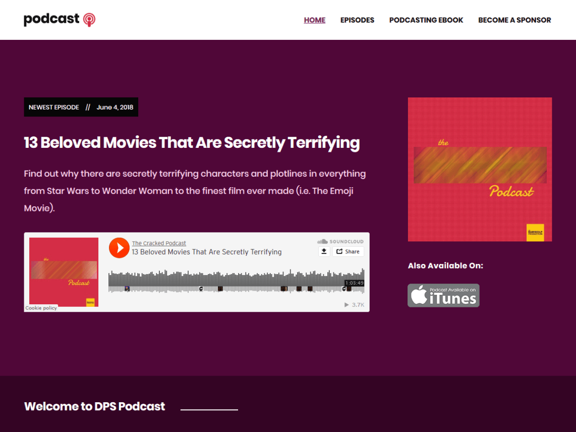 Podcast - WordPress theme | WordPress org