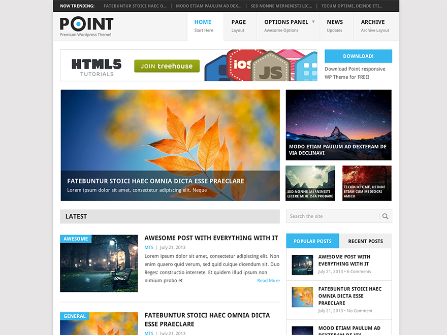 Point free wordpress themes pronofoot35fo Gallery