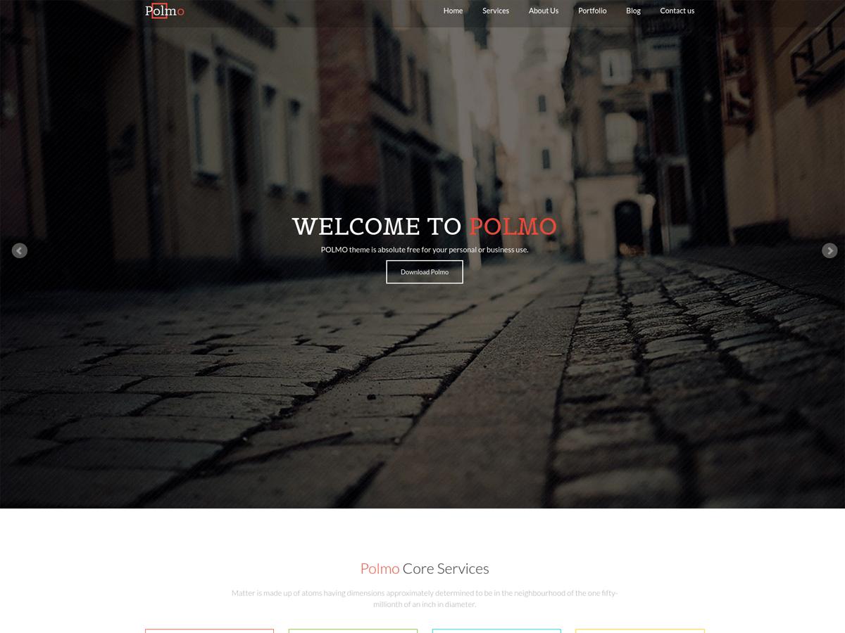 Polmo Lite free wordpress theme