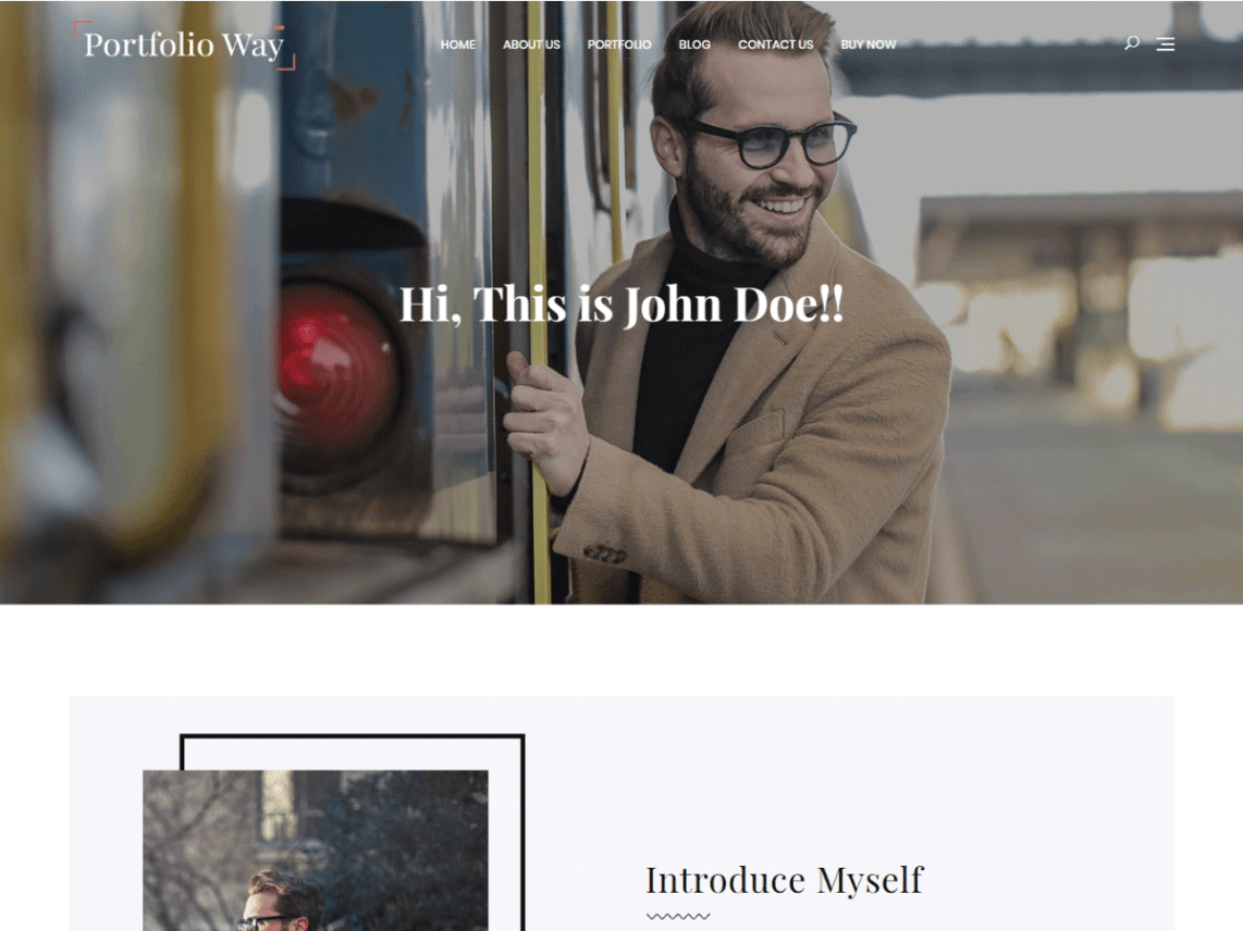 Portfolio Way Wordpress Theme Wordpress Org