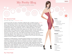 Pretty Theme free wordpress theme