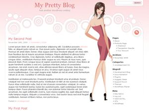 Pretty Theme wordpress theme