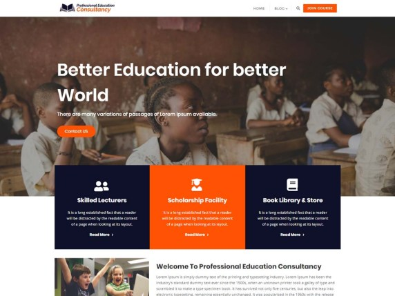 Left Sidebar | WordPress org