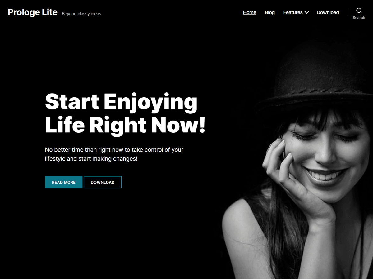 Prologe Lite WordPress Theme