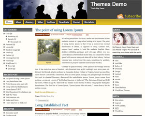 Prosumer free wordpress theme