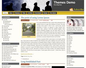 Prosumer wordpress theme