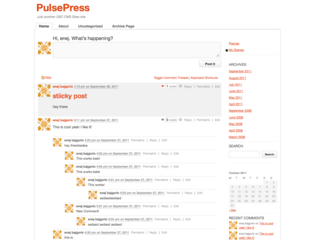 PulsePress free wordpress theme