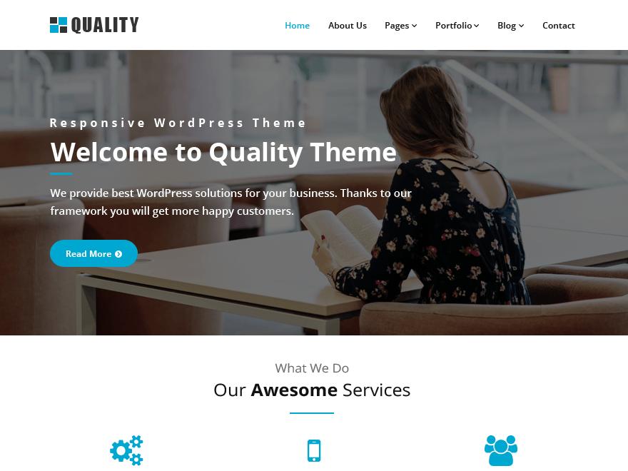 Quality blue | WordPress.org