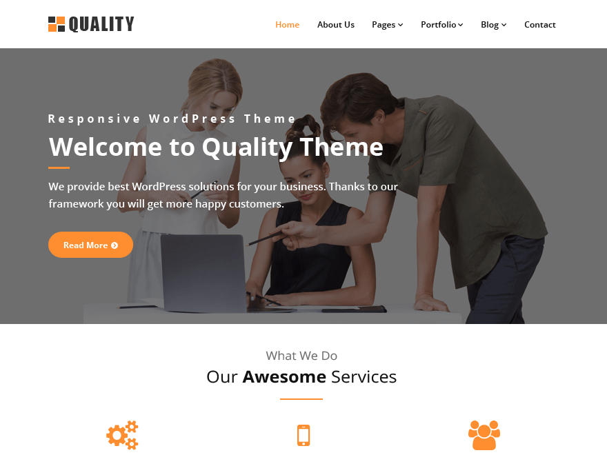 Quality orange | WordPress.org