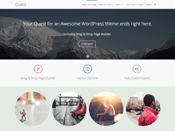 Quest wordpress theme