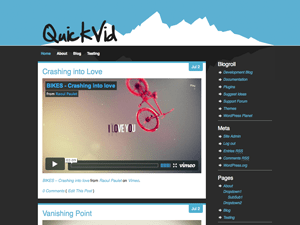 Quick-Vid free wordpress theme